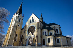 Church in Levoca Royalty Free Stock Photo