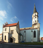 Church in Levoca town - Slovakia.  Royalty Free Stock Photos