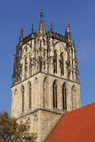 The church Liebfrauen in Muenster, Germany Stock Photography