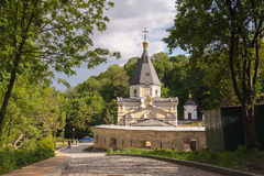 Church Life-giving Spring in the Kyiv-Pechersk Lavra Royalty Free Stock Photo