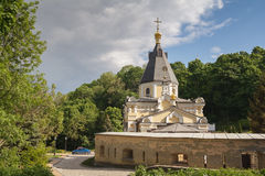 Church Life-giving Spring in the Kyiv-Pechersk Lavra Stock Images