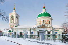 Church of the Life-Giving Trinity on the Sparrow Hills. Moscow Royalty Free Stock Photography