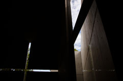 Church of The Light. Is designed by Tadao Ando, a Japanese architect Stock Images