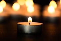 Church. Light lights candlelight praying card dinner stock image