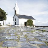 Church and lighthouse Royalty Free Stock Photo