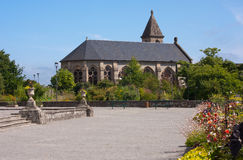 Church in Limoges. Church in a park of Limoges, France Stock Photo