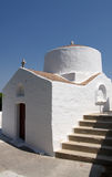 Church in Lindos, Greece Stock Image