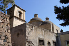 Church of Lipari Royalty Free Stock Photos