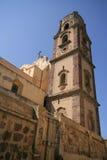 Church in Lipari, Italy stock photo