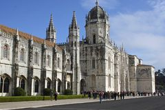 Church in Lisbon, Portugal Royalty Free Stock Images