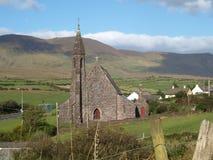 Church of Lispole. On the Dingle Peninsula in Ireland Royalty Free Stock Photo