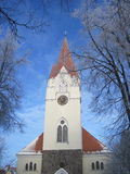Church, Lithuania. Evangelical Lutheran Church in Silute, Lithuania Royalty Free Stock Images