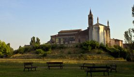 The church. Of little village grazie Royalty Free Stock Photo