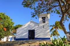Church. Little white church in the town of Buzios, Rio de Janeiro Stock Photos