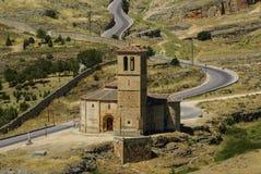 Church located in the city of Segovia. Church located in the city of Segovia, Castile and Leon (Spain)Europa Royalty Free Stock Photo