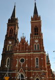 Church of - Lodz - Poland Stock Image