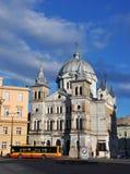 Church in Lodz, Poland Stock Photo