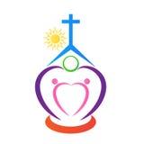 Church logo Royalty Free Stock Photo