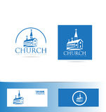 Church logo Royalty Free Stock Images