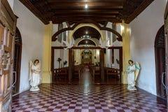 Loreto Mission Baja California Sur Mexico. Church of Loreto Mission Baja California Sur Mexico royalty free stock photography