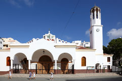Church in Los Cristianos, Tenerife Stock Images