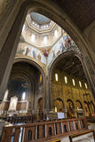 Church of Lourdes (Milan), interior Royalty Free Stock Photography