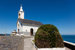 Church of Luarca Royalty Free Stock Image