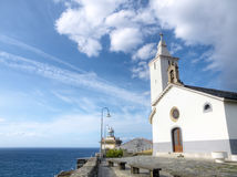 Church of Luarca Royalty Free Stock Images