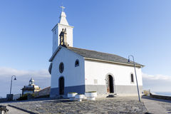 Church of Luarca, Asturias Royalty Free Stock Images