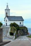 Church of Luarca, Asturias, Spain Royalty Free Stock Photos