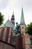 Church. Lubeck Stock Images