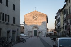Church in Lucca, Italy royalty free stock photo