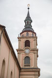 Church in Ludwigsburg downtown Royalty Free Stock Photos