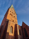 Church in Lueneburg. Old church in Lueneburg, Northern Germany stock photos