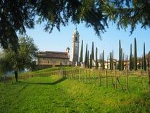 Church Lugano in Switzerland. Stock Images