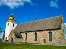 Church of Luleå. The central Church of the old Part from Lule Royalty Free Stock Photos