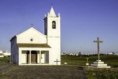 Church in Luz New Village, built in 2002. Portugal. Stock Images