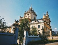 Church. In Lviv Stock Images