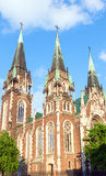 Church  in Lviv City (Ukraine) Royalty Free Stock Image