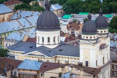 Church in Lviv Stock Photos