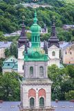 Church in Lviv Stock Image
