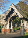 Church lych gate Royalty Free Stock Photos