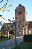 Church of Lyngby / Lyngby Kirke. The church of Lyngby, Kongens Lyngby Royalty Free Stock Images