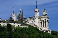Church in Lyon Royalty Free Stock Photo