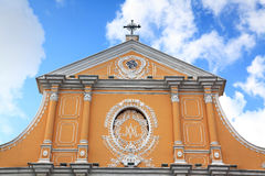 Church in Macau Royalty Free Stock Photography