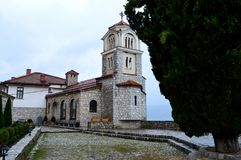 Church. In Macedonia in Ohrid Royalty Free Stock Photography