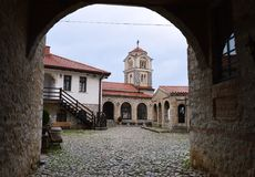 Church. In Macedonia in Ohrid Stock Photos
