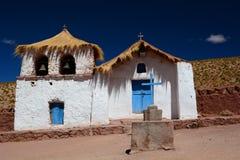 Church. Machuca village. San Pedro de Atacama. Antofagasta Region. Chile Stock Photo