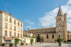 Church of Madeleine of Beziers. Royalty Free Stock Image
