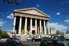 Church of the madeleine in Paris Stock Photo